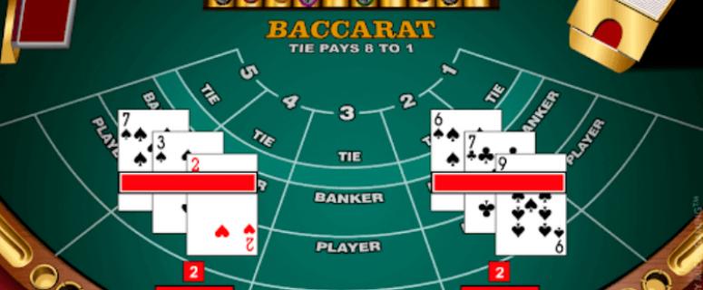 Cara Menang Bermain 3 Cards Baccarat Online